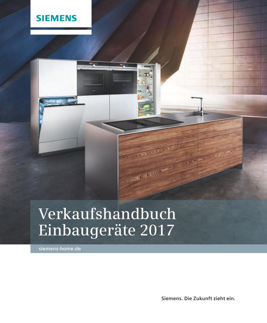Verkaufshandbuch Einbaugerate 2017 Kuchenfachhandel Von Seg Hausgerate