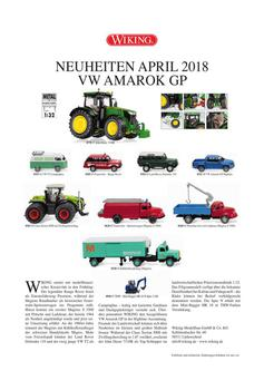 Wiking Neuheiten April 2018