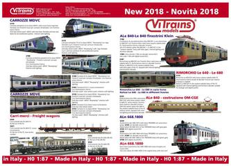 ViTrains Flyer 2018 Italien