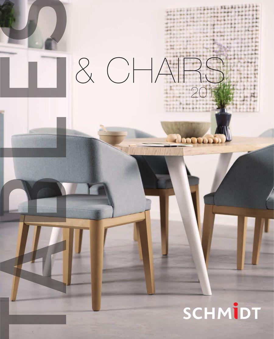 Tische und Stühle 2017 von SCHMIDT Küchen & Wohnwelten