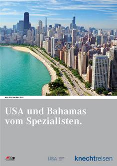 USA und Bahamas April 2014 bis März 2015