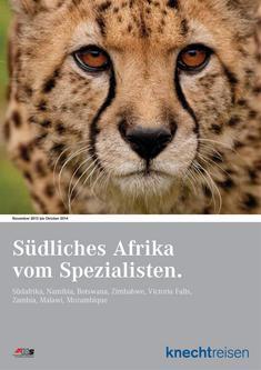 Südliches Afrika November 2013 bis Oktober 2014