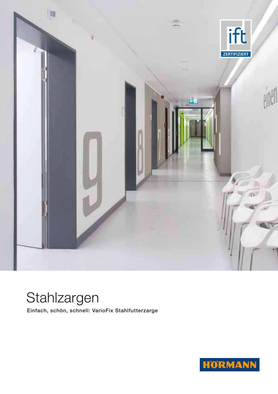 Stahlzargen für Architekten 2017 von Hörmann Schweiz