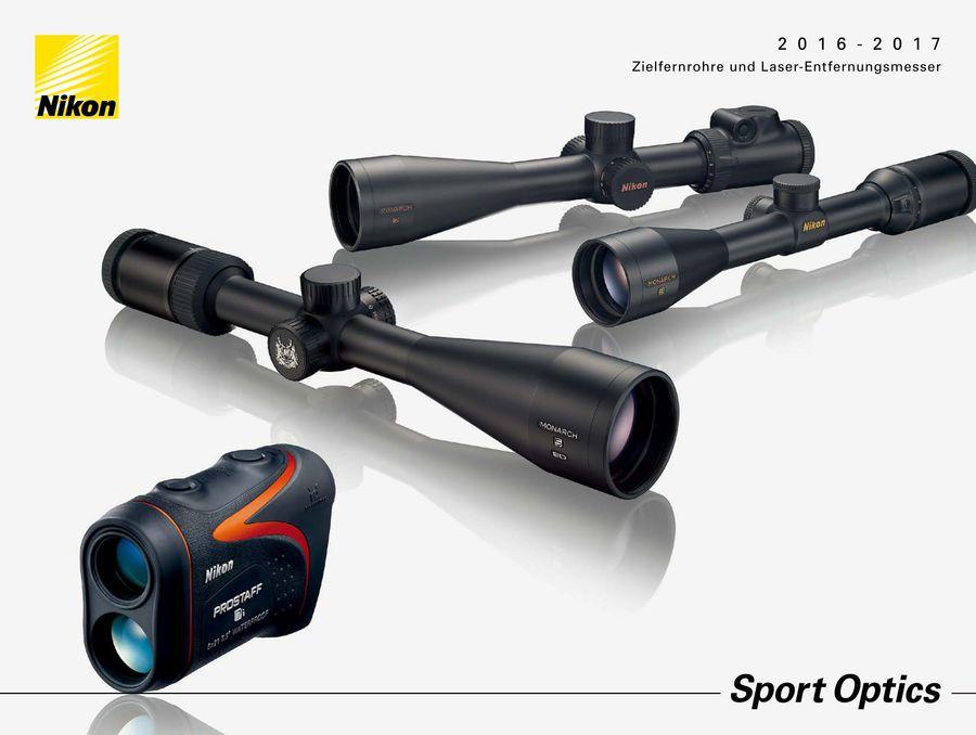 Nikon Laser Entfernungsmesser Prostaff 7 : Hunting 2017 von nikon schweiz