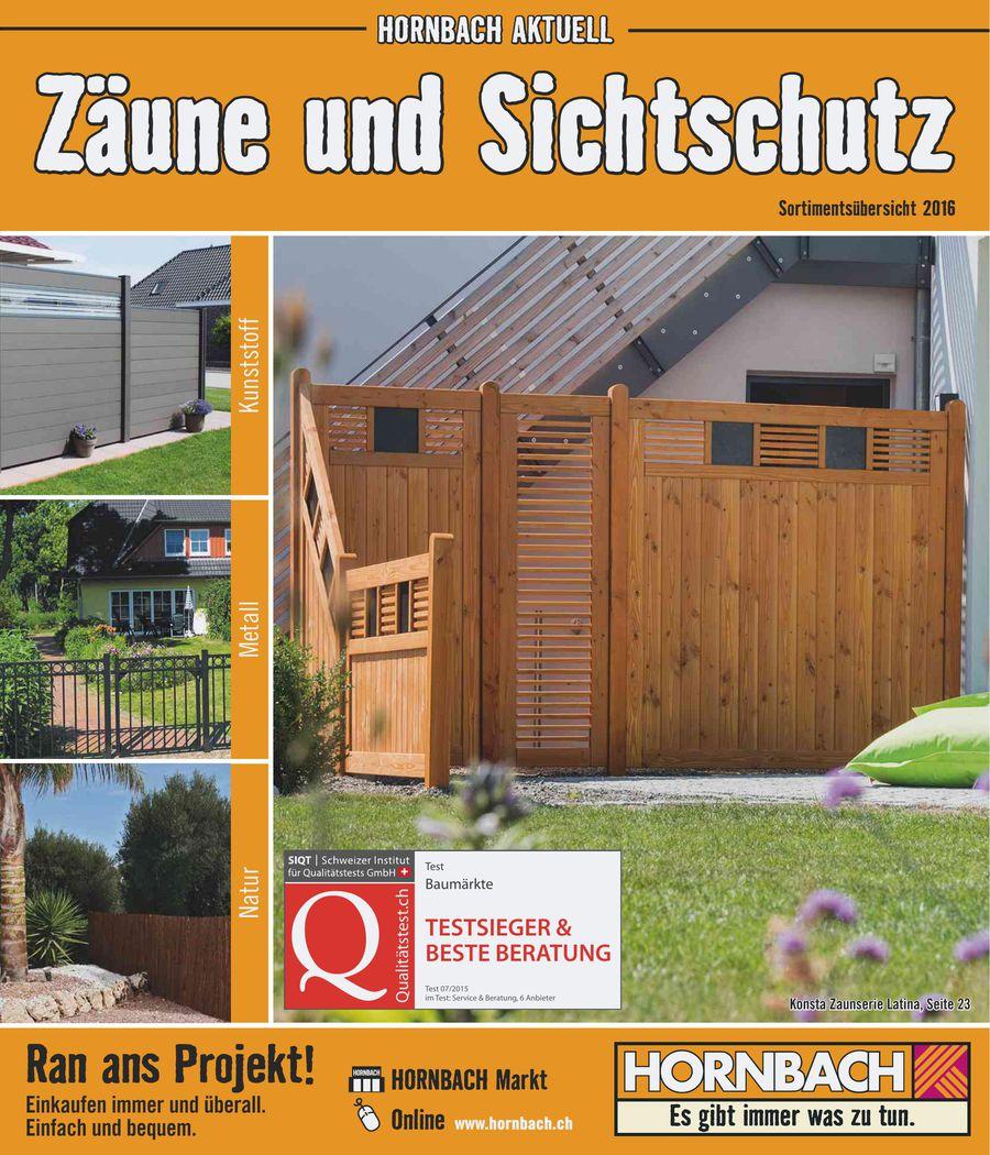 Hornbach zaunfelder