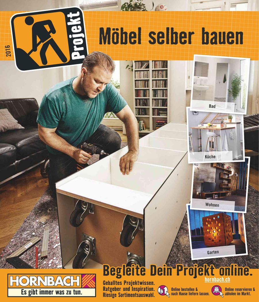22055c33886067 Möbel selber bauen September 2016 von HORNBACH Baumarkt (Schweiz)