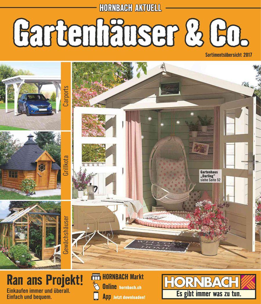 Gartenhauser Co Januar 2017 Von Hornbach Baumarkt Schweiz