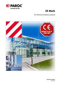 CE Mark for technical insulation products 2017