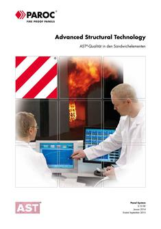 AST - Advanced Structural Technology in den Sandwichelementen 2017