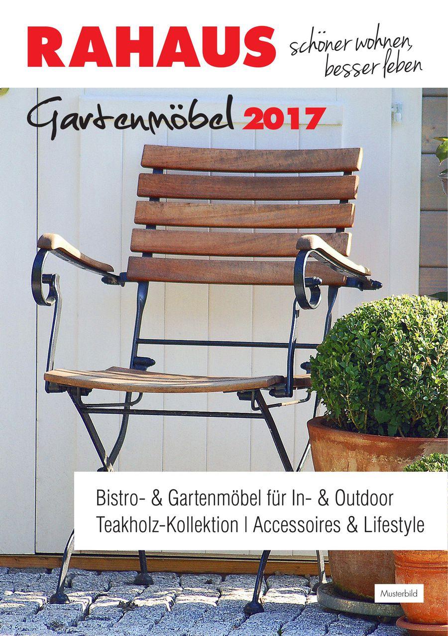 Gartenmöbel 2017 von Rahaus