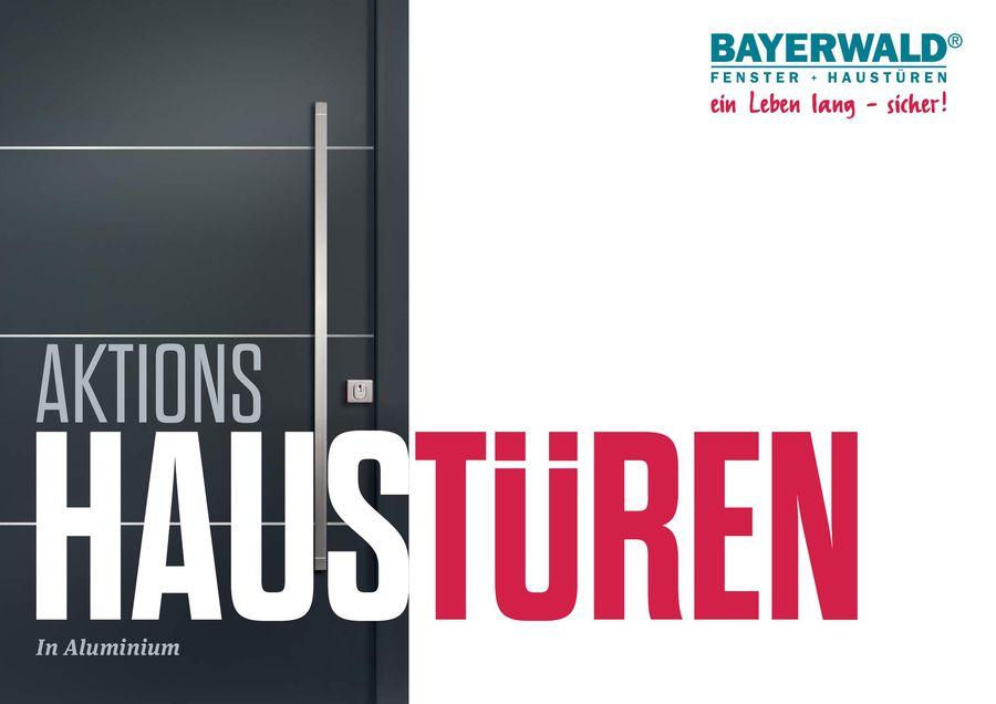 Bayerwald Fenster aktions haustüren in aluminium 2016 bayerwald fenster haustüren