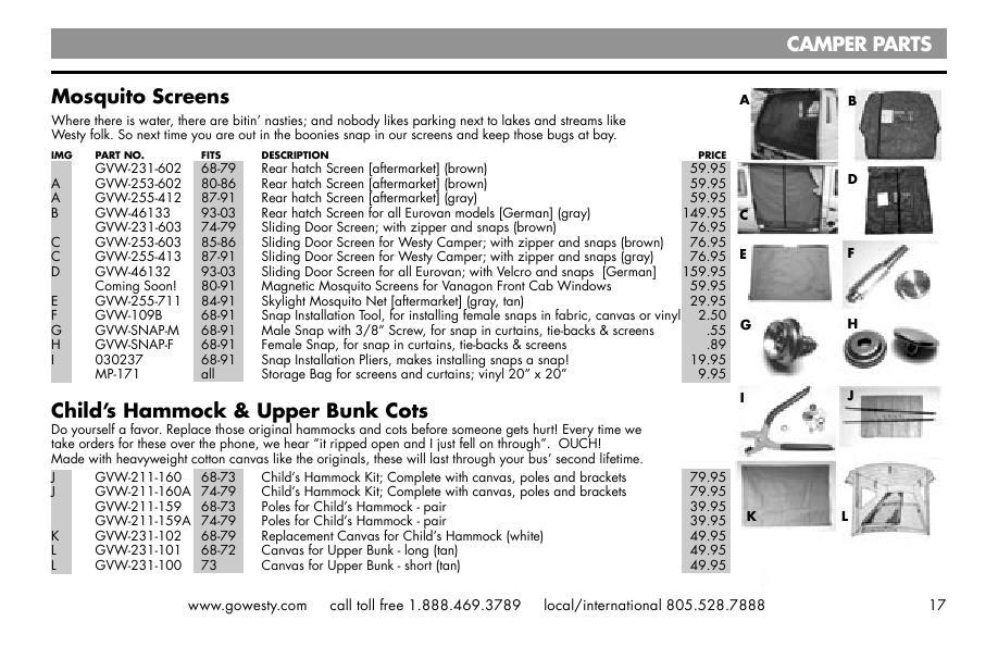 Seite 13 von Camper Products