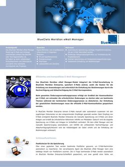 BlueCielo Meridian eMail Manager 2014