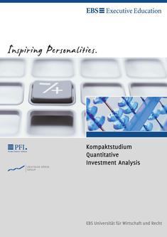 Kompaktstudium Quantitative Investment Analysis