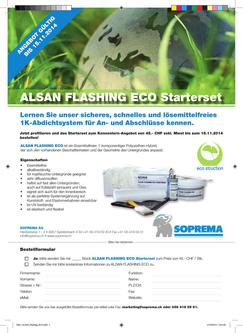 Flyer ALSAN Flashing ECO 2017