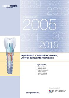 alphatech® Implantate 2015