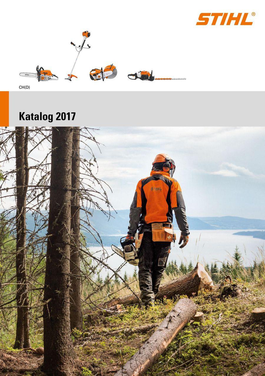 stihl katalog 2017 (schweiz de) von stihl schweiz