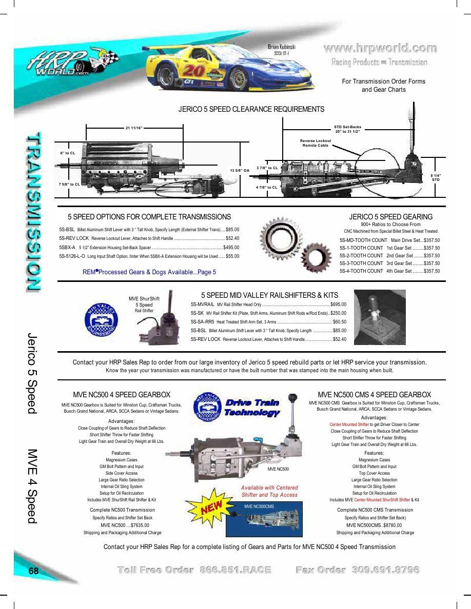 Seite 68 von Race Car Parts and Supplies Catalog