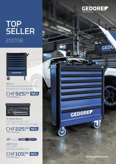 GEDORE Top Seller 2017/18