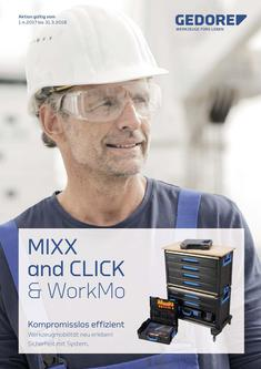 Gedore Mixx and Click&WorkMo DE 2017/18