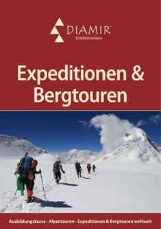 Expeditionen & Bergtouren 2018