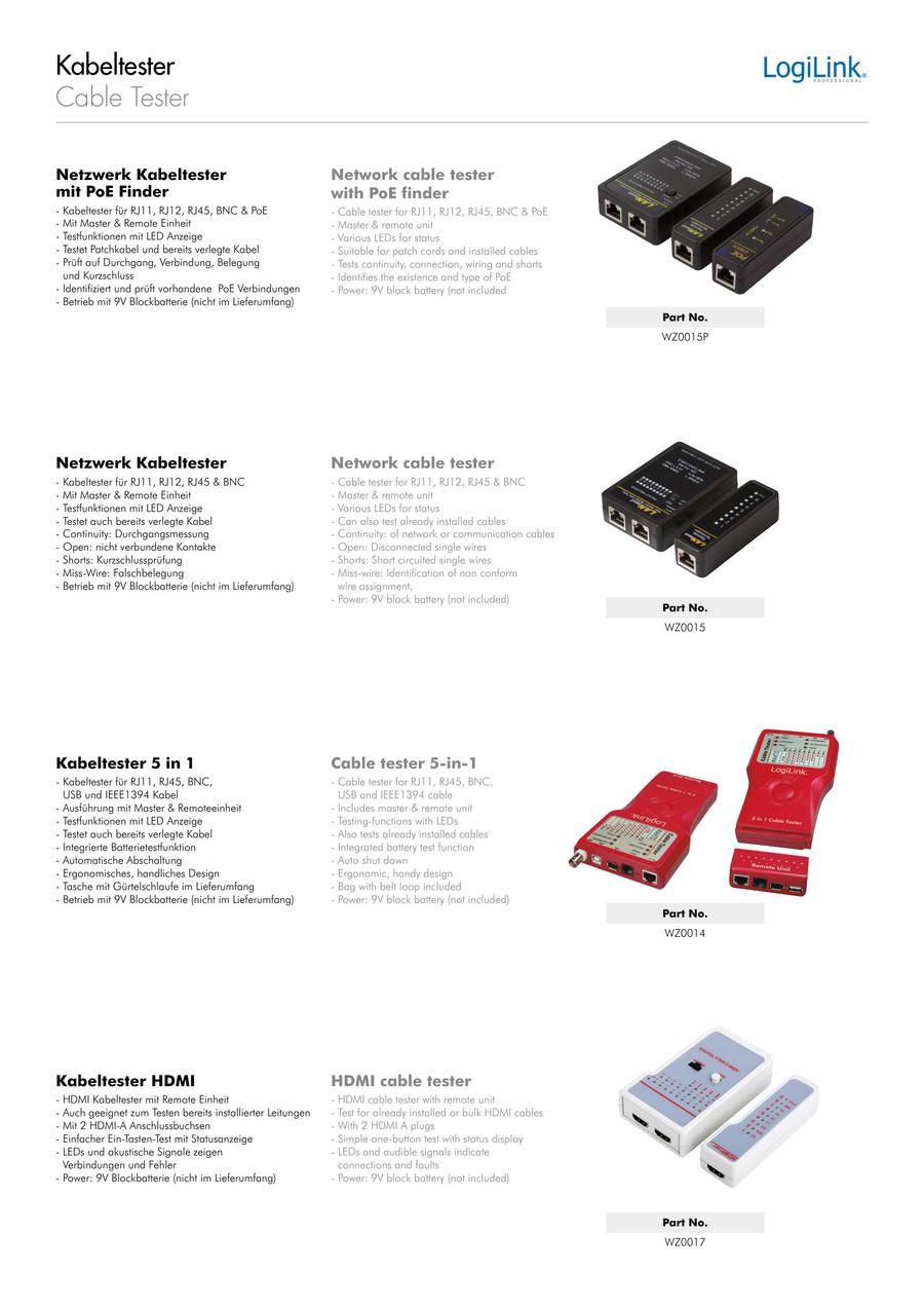 Netzwerktechnik Tools Und Tester 2018 Von 2direct Gmbh Rj45 Wiring Block