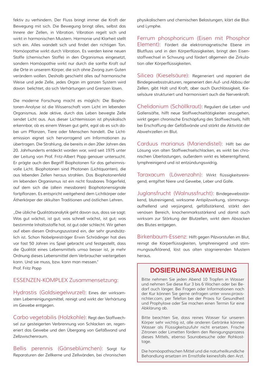 Blut- und Lymphorganstärkung und Säure- und Basenregulation 2015 von ...