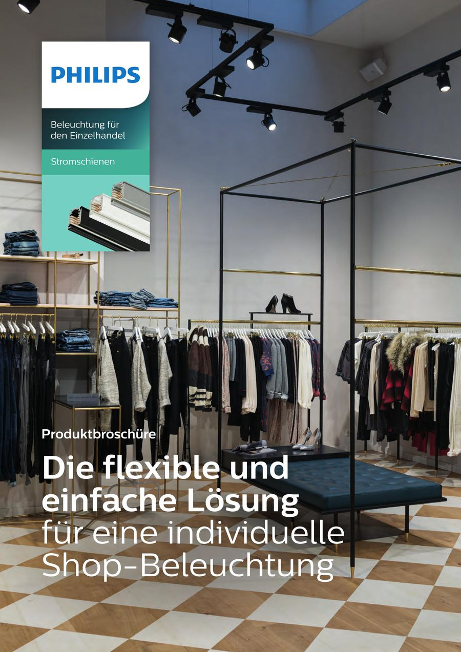 Stromschienen - Beleuchtung für den Einzelhandel (WM-Nr. 5117) 2018 ...