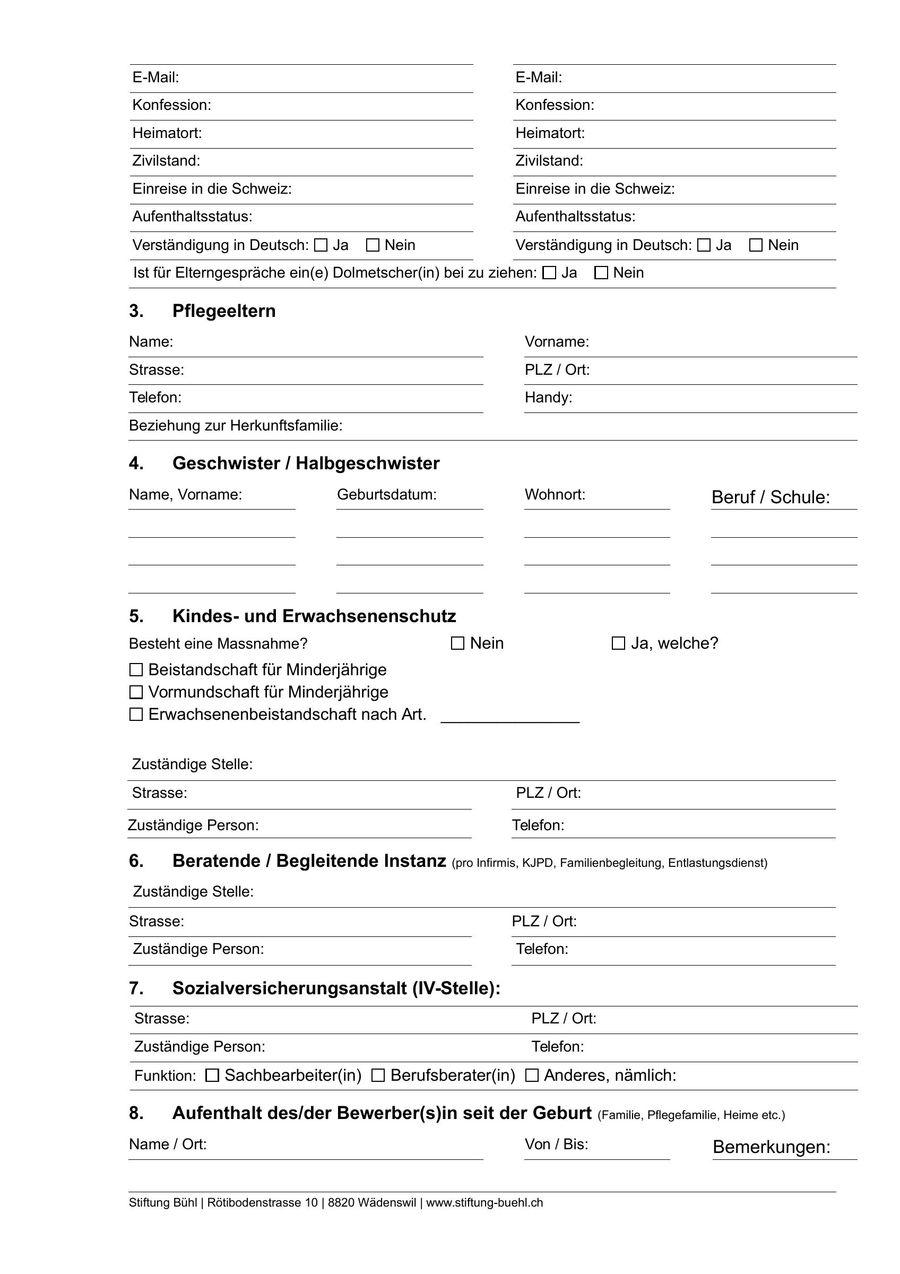 Großzügig Schule Anmeldeformular Beispiel Bilder - FORTSETZUNG ...
