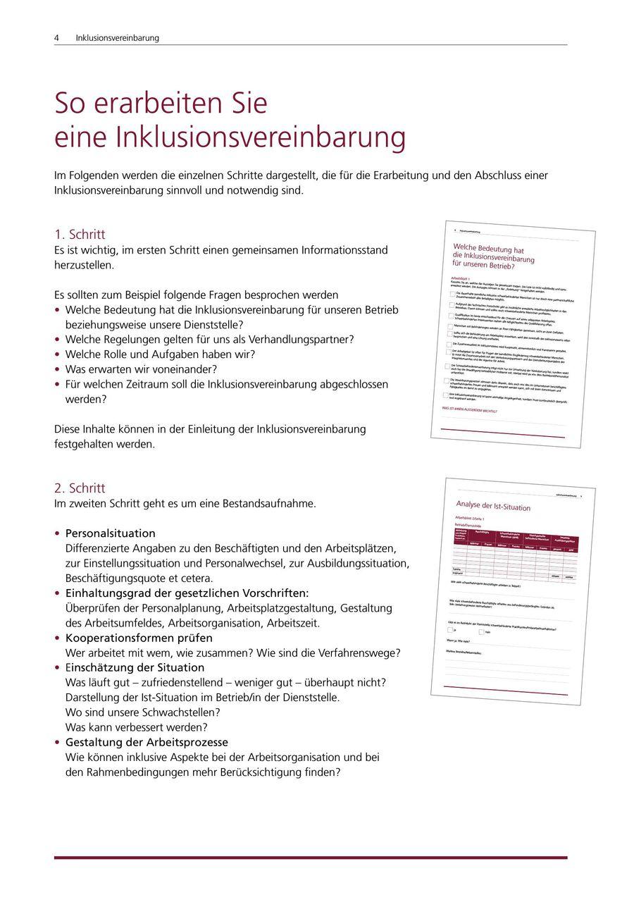 Inklusionsvereinbarung 2017 von LWL - Integrationsamt