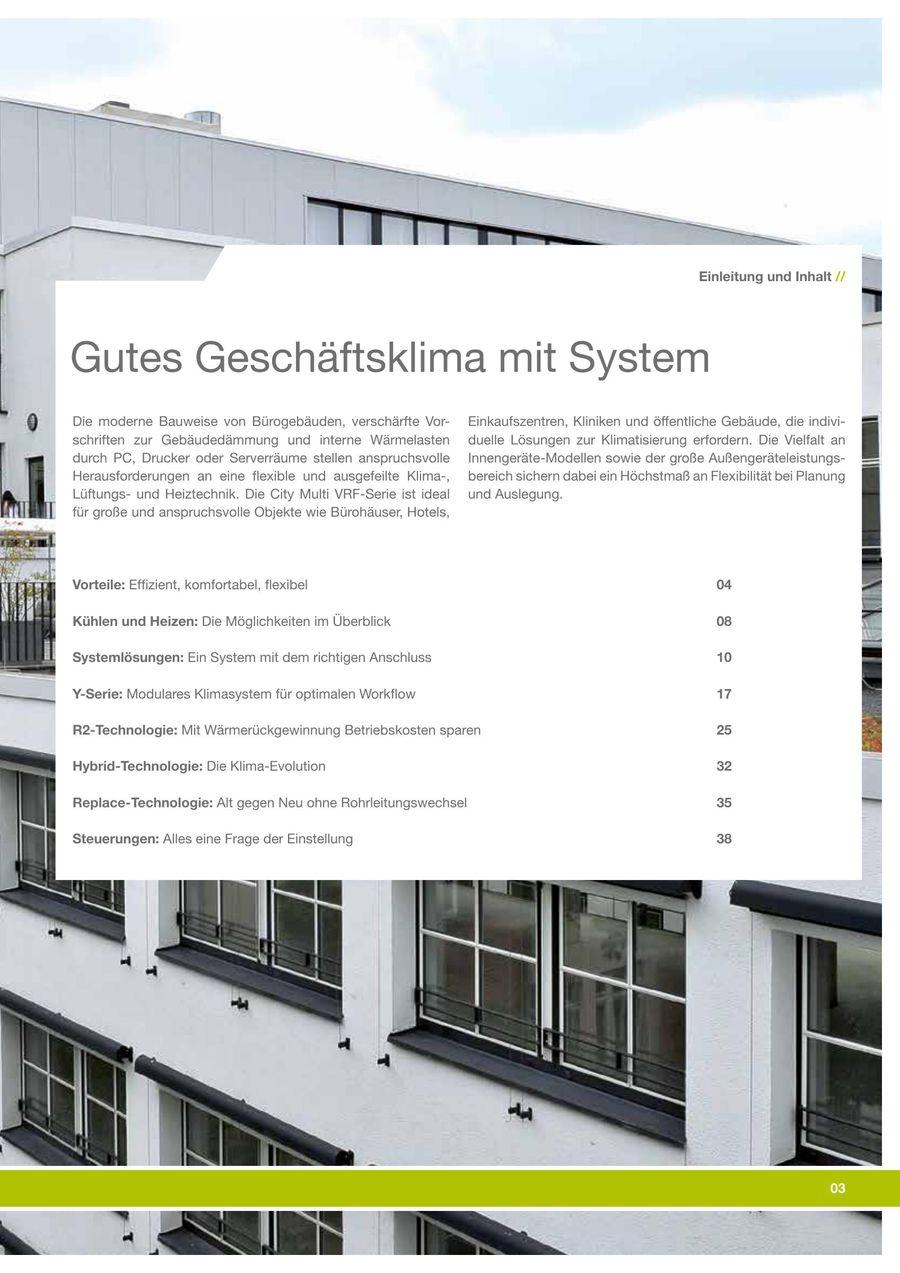 City Multi Vrf 2018 Von Mitsubishi Electric Europe Bv Living System Environment Systems