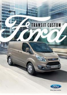 Hauptkatalog Ford Transit Custom (April 2017)