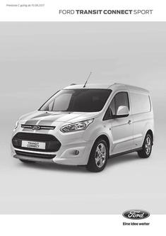 Preisliste Ford Transit Connect Sport (15.08.2017)