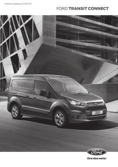 Preisliste Ford Transit Connect (15.08.2017)