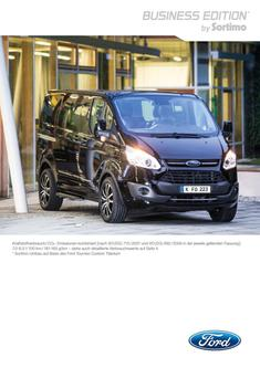 Ford Tourneo Custom Business Edition 2016