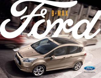 Hauptkatalog Ford B-Max (September 2016)