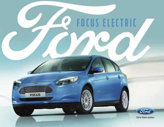 Prospekt Ford Focus Electric (Februar 2017)