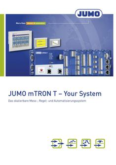 JUMO mTRON T - Your System 2018