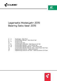 CUBE Lagersets 2015