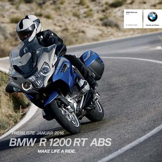 BMW R 1200 RT ABS 2016