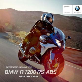 BMW R 1200 RS ABS 2016