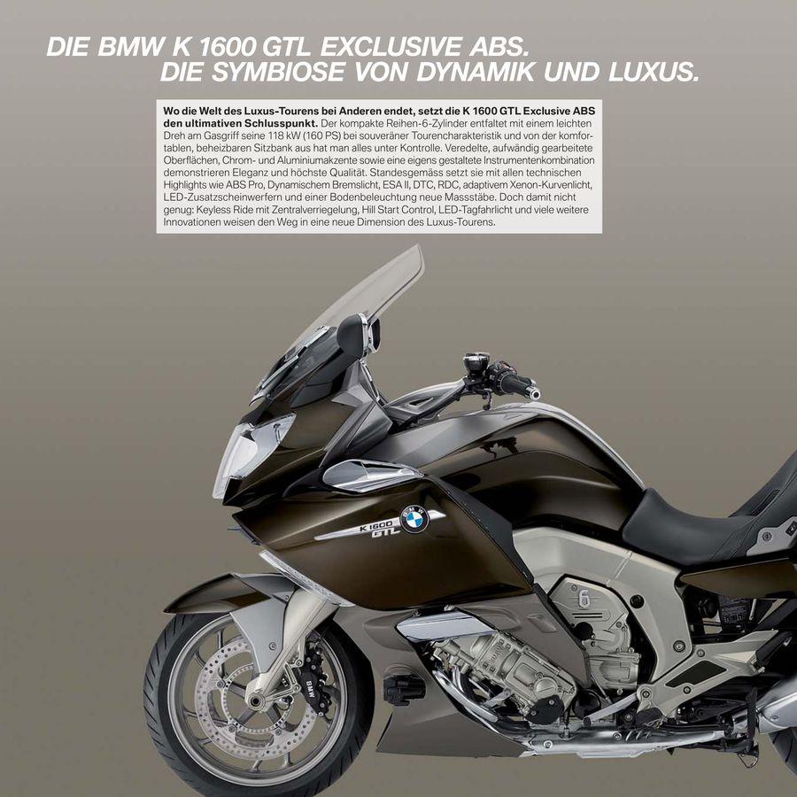 Bmw K 1600 Gtl Exklusive Abs 2016 Von Bmw Motorrad