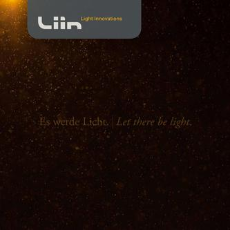Liin - Light Innovations Gesamtkatalog 2018