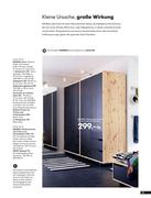 kleiderschrank mit spiegel in schlafzimmer tr ume 2008 von ikea. Black Bedroom Furniture Sets. Home Design Ideas