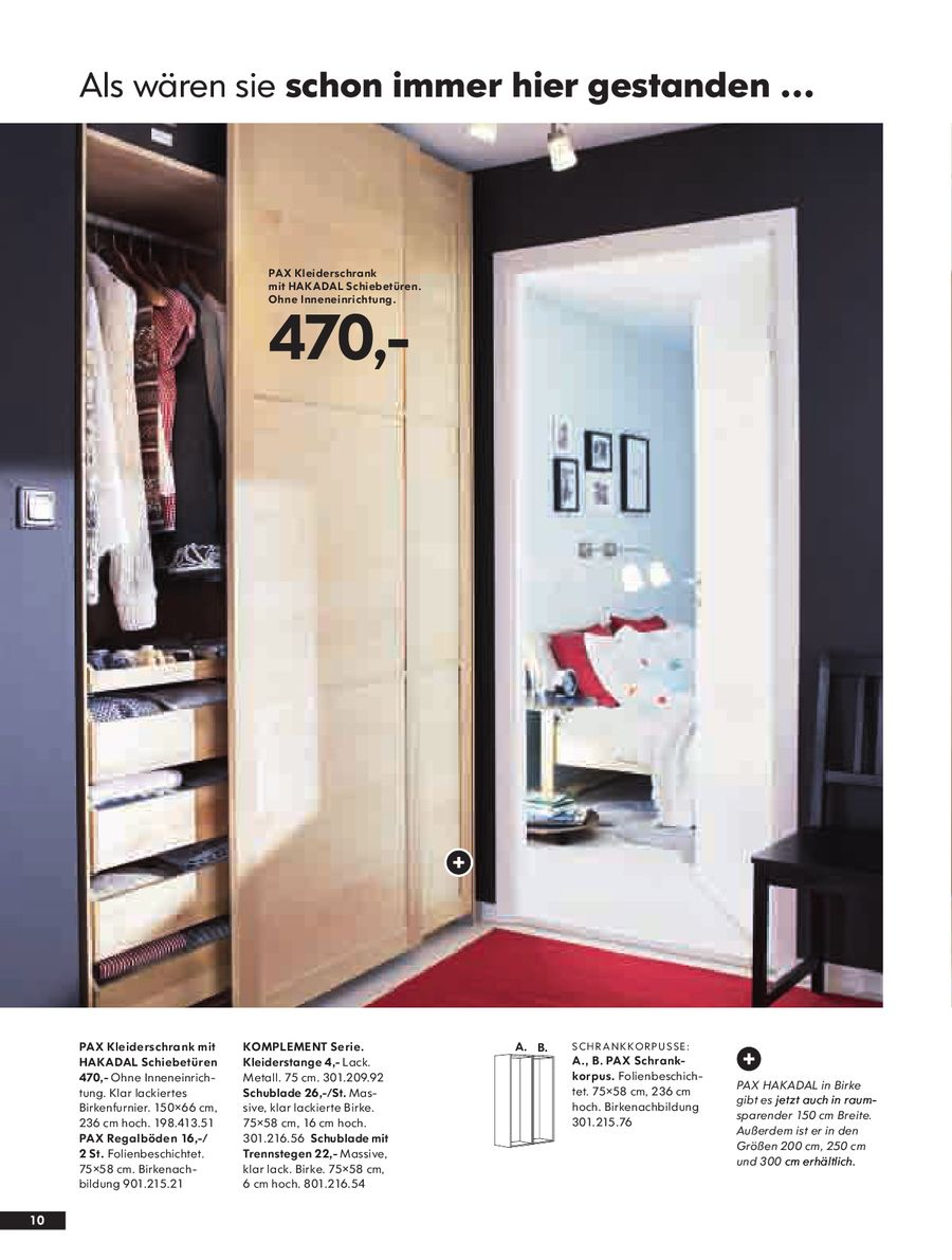 Seite 10 von PAX Schränke 2008