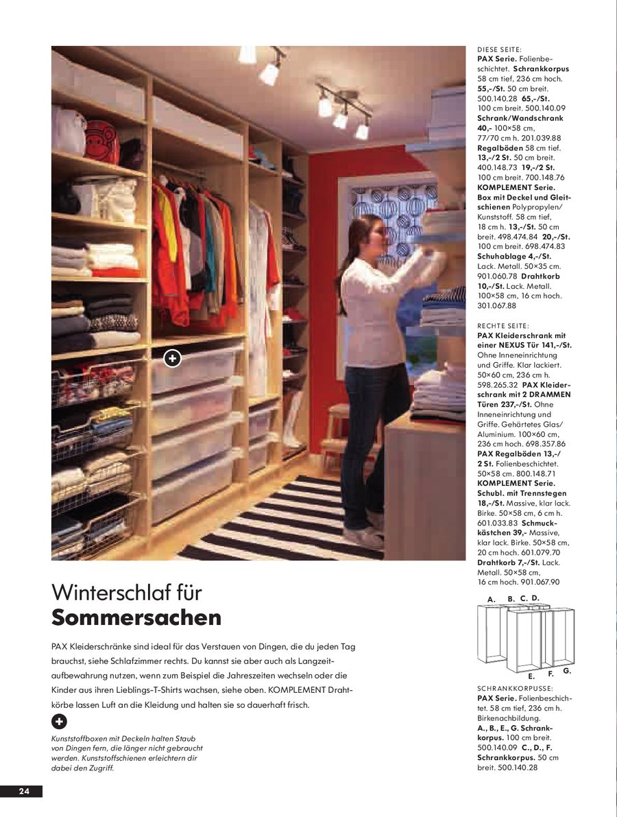Seite 25 von PAX Schränke 2008