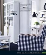 b cherregal mit vitrinent ren ikea in ikea katalog 2009 von ikea. Black Bedroom Furniture Sets. Home Design Ideas
