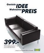 Leder Sofa In Ikea Katalog 2009 Von Ikea
