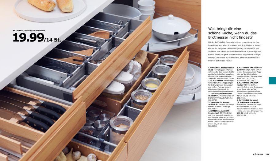 IKEA RATIONELL Karussell für Eckunterschrank ausziehbar 120cm 401.167.39 FAKTUM