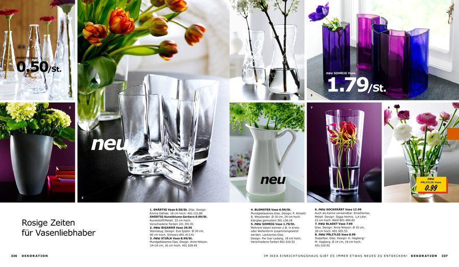 Vasen Ikea bilingual inspiration ikeaspiration vases flowers
